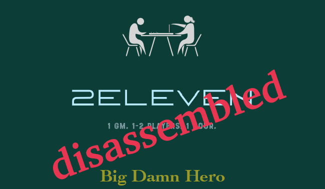 Disassembled: Big Damn Hero #1