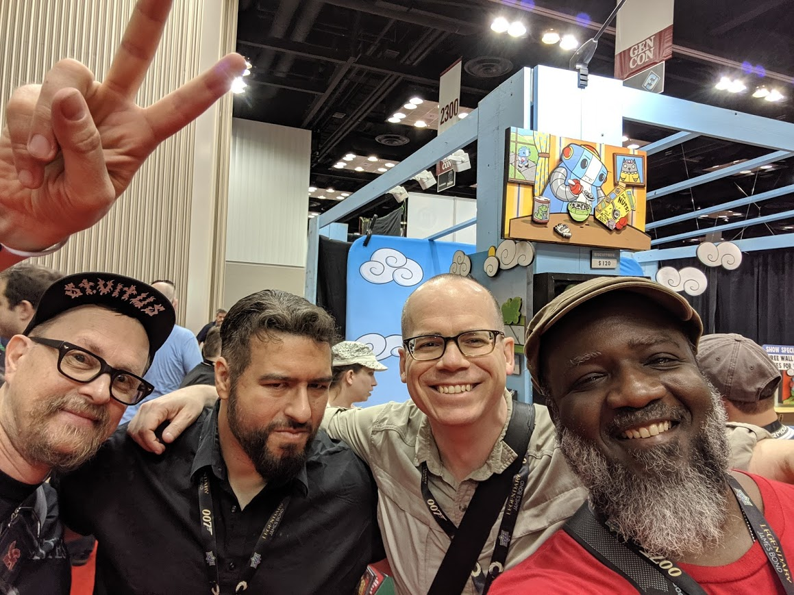 Episode 12: GenCon 2019 the rundown.